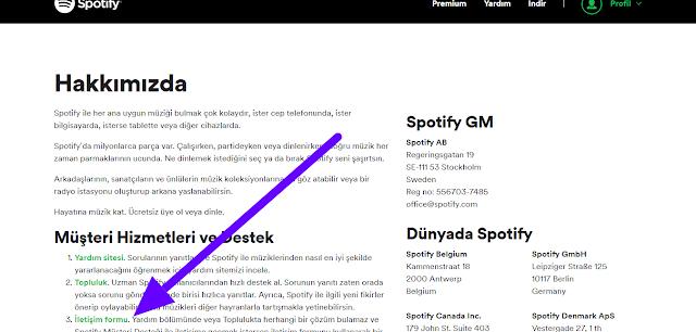 Spotify Hesabını Kapatma