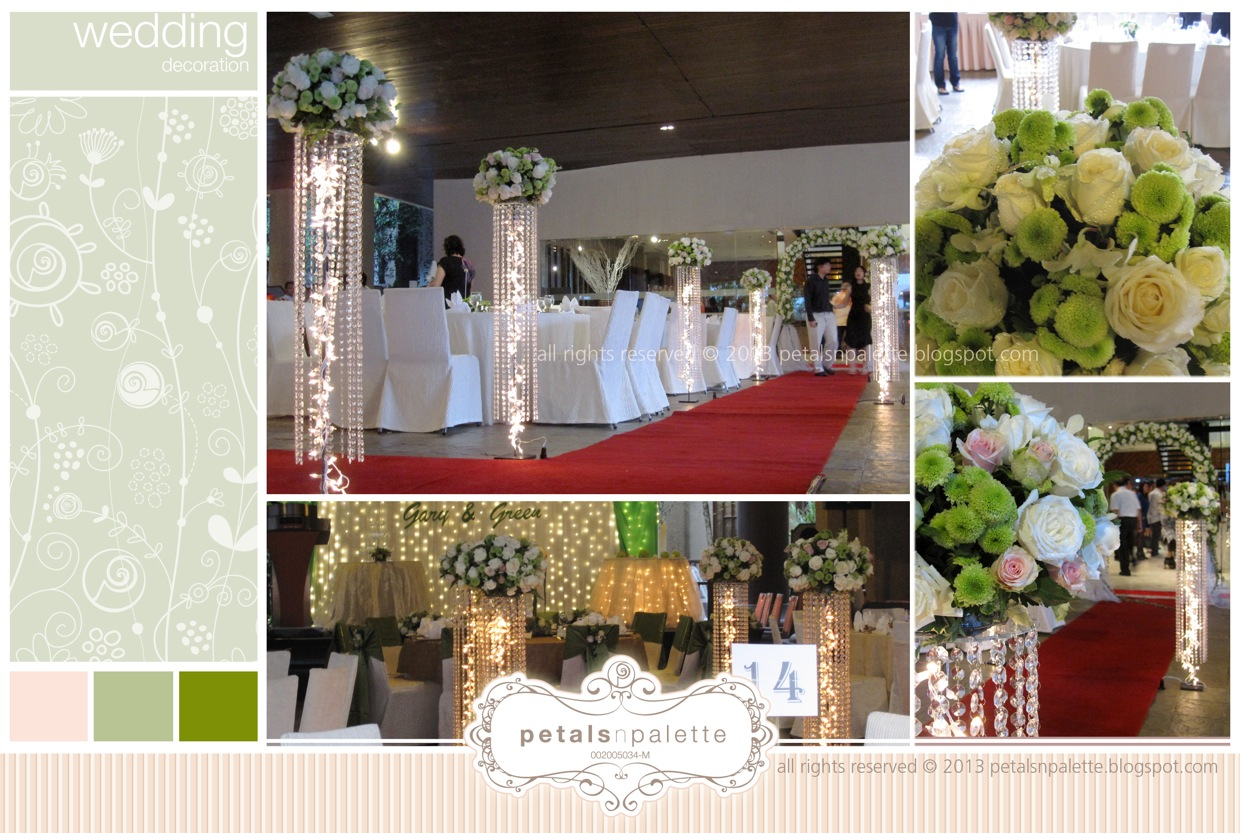 Wedding decoration hotel pullman putrajaya lakeside for Hotel wedding decor