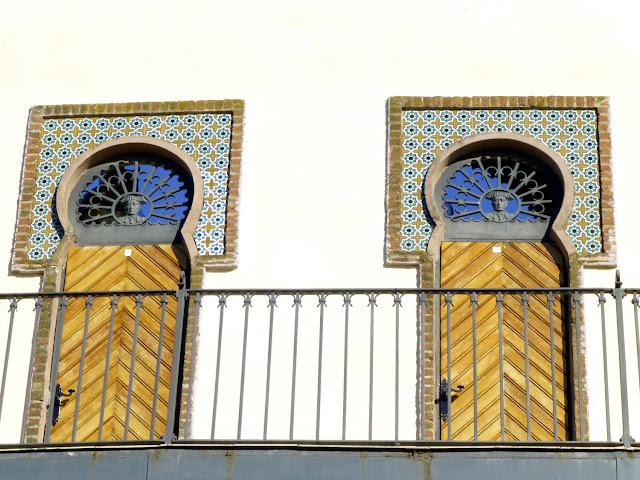Detalle piso superior de la Plaza de Toros de Almendralejo