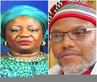 Lauretta Onochie Says Nnamdi Kanu Will Be Locked up, and The Keys Thrown Into The Atlantic Ocean. 2