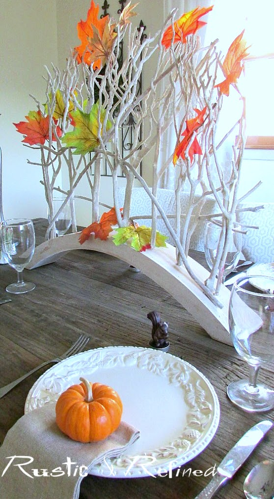 How to set a quick and easy fall tablescape