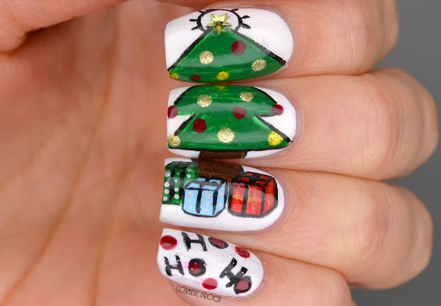 NAILS | Christmas Tree Puzzle Nail Art #ManiMonday