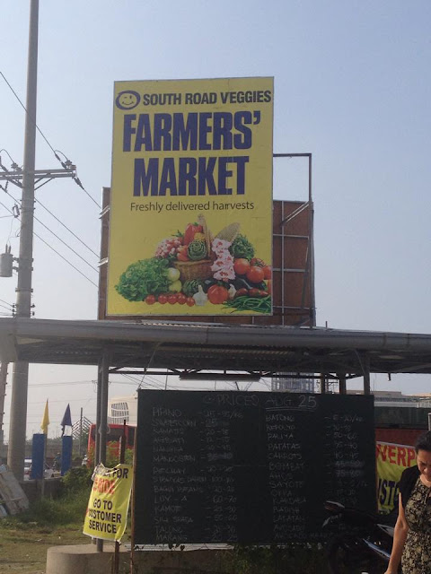 The SRP Farmers' market in Cebu City