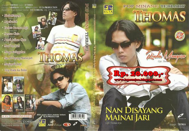 Thomas Arya - Nan Disayang Mainai Jari (Album Pop Minang Terbaru)