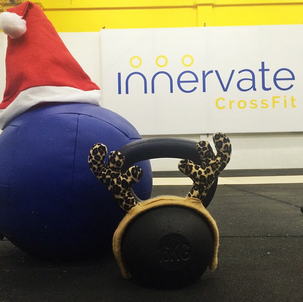 Innervate CrossFit Singapore Merry Christmas