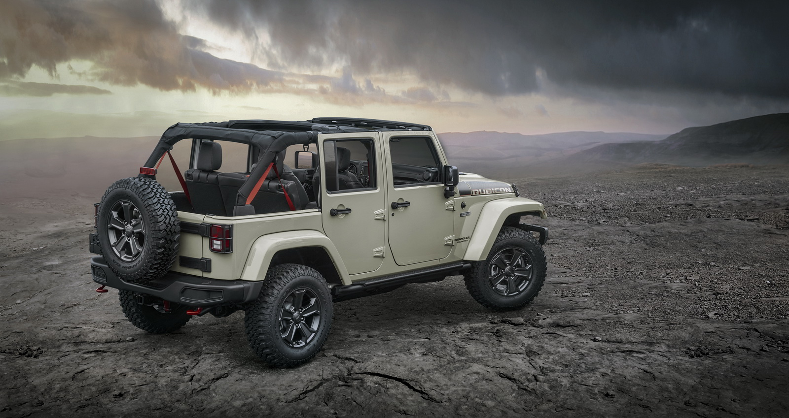 jeep wrangler rubicon recon edition launched in the uk. Black Bedroom Furniture Sets. Home Design Ideas
