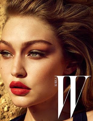 Gigi Hadid en couverture de W Korea - Décembre 2016