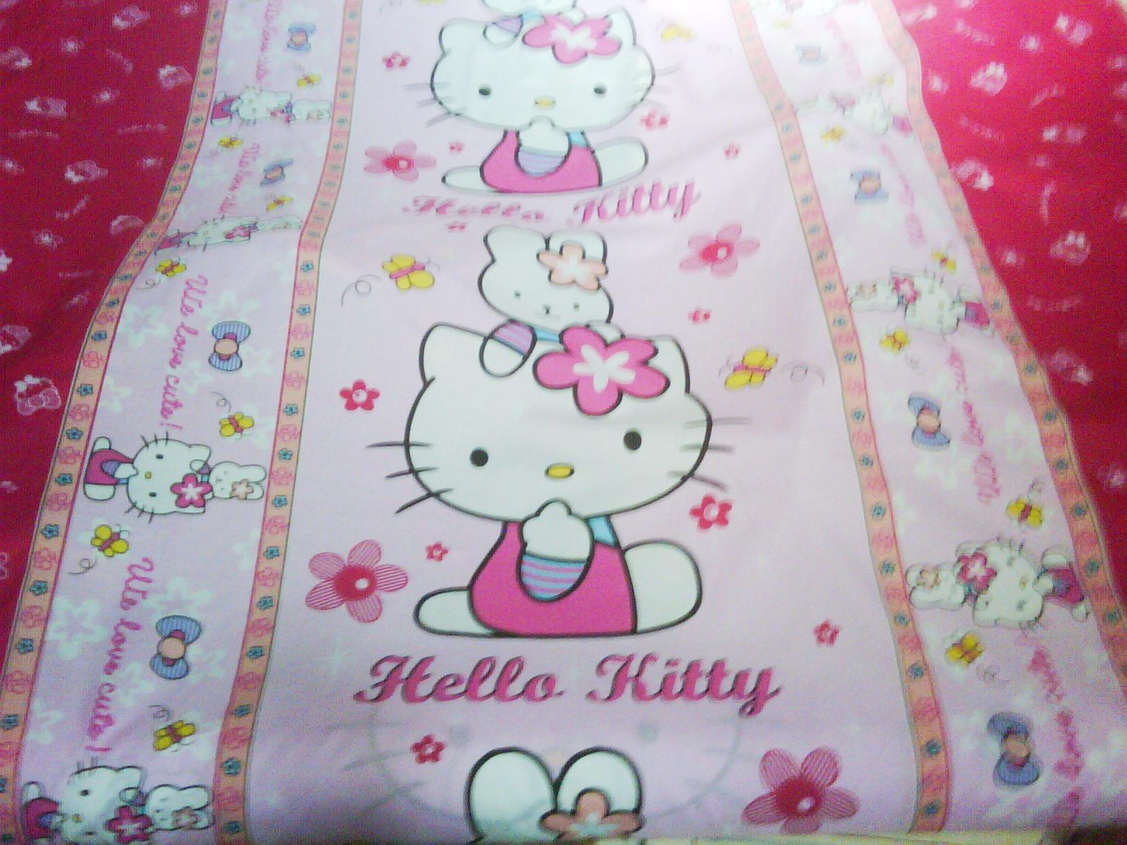 Sprei Hello Kitty Katun Jepang Murah Distributor September 2011 Gorden Karakter Dan
