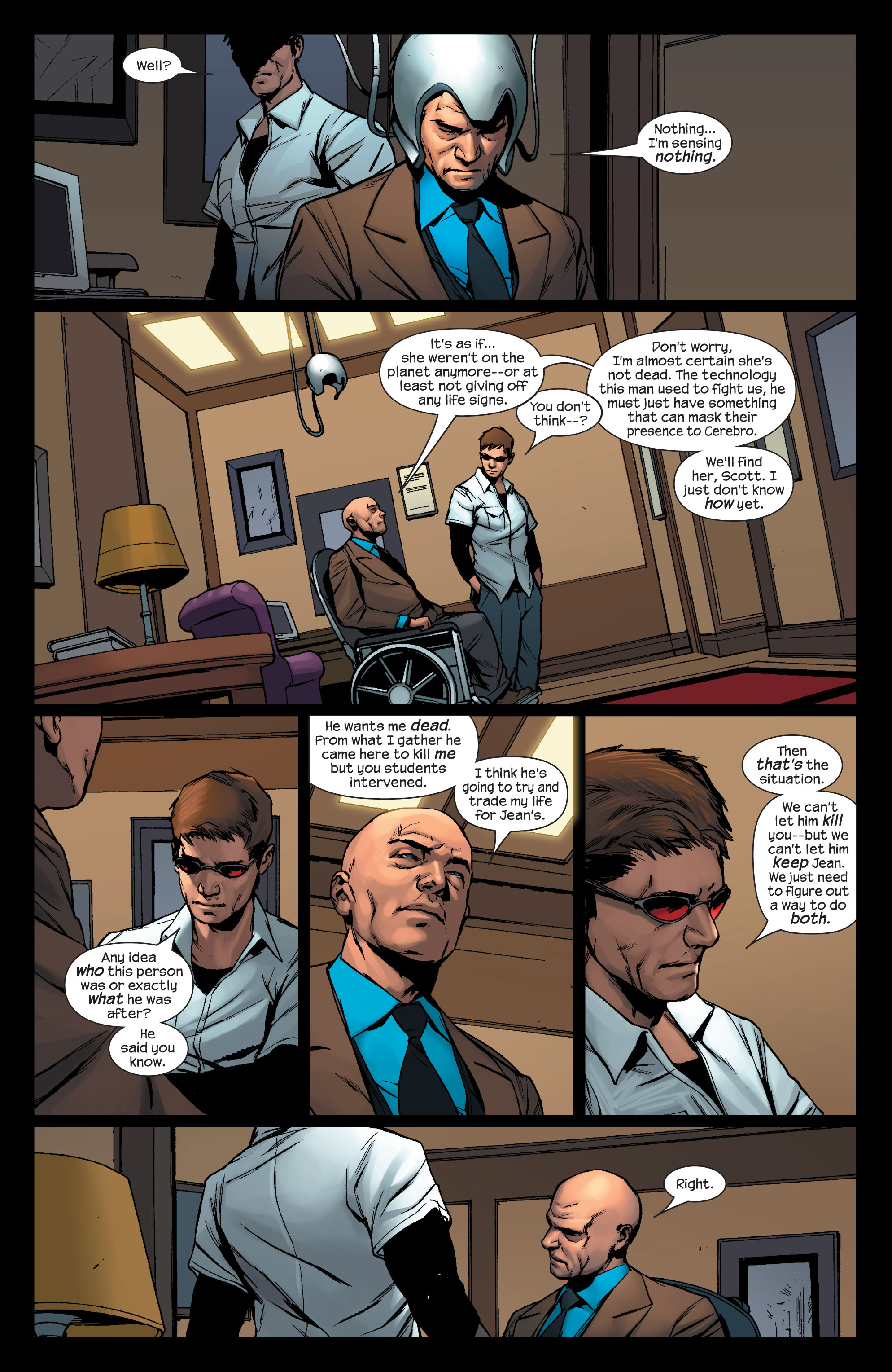 Read online Ultimate X-Men comic -  Issue #76 - 17