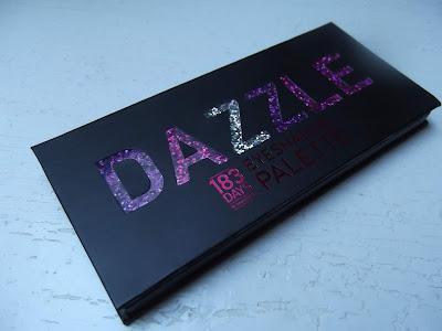 paletka očných tieňov Dazzle