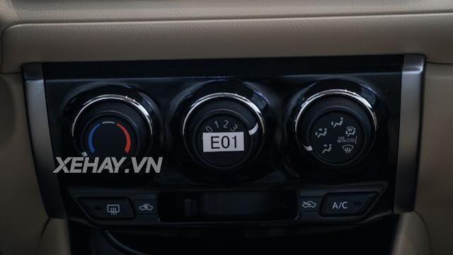vios 15e cvt 12 - Cận cảnh Toyota Vios 1.5E CVT mới ra mắt Việt Nam