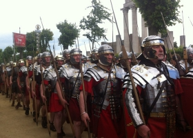 A legion of roman army.