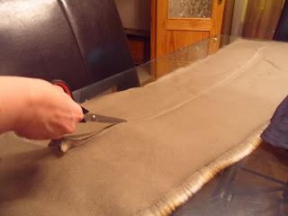 como hacer un cuello de piel desmontable