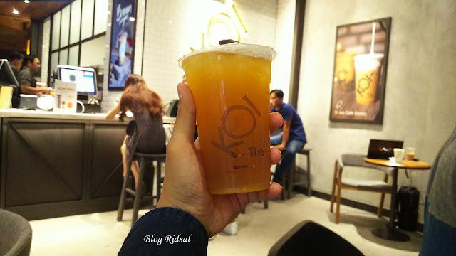KOI The Center Point Mall: Edisi Lanjutan Menikmati KOI The Indonesia - Minuman