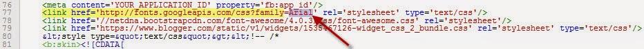 Lỗi font chữ blogspot tiếng việt