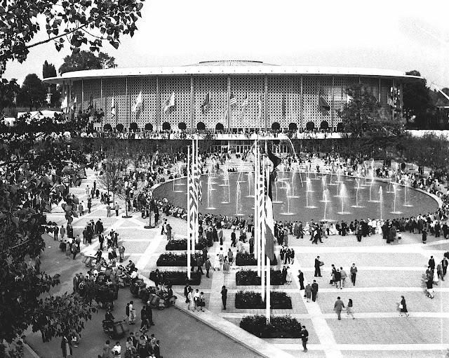 American pavilion 1958 wf photograph