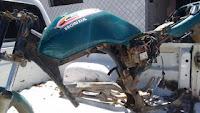 Polícia Civil encontra cemitério de motos roubadas na zona rural de Nova Floresta