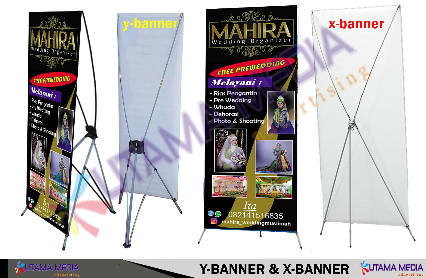 X Banner Y Banner Utama Media Advertising
