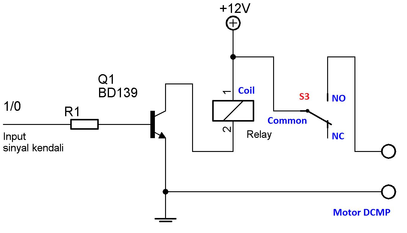 Driver Motor Dcmp Menggunakan Relay