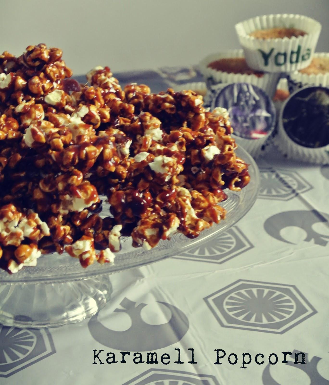 Popcorn Aufwärmen