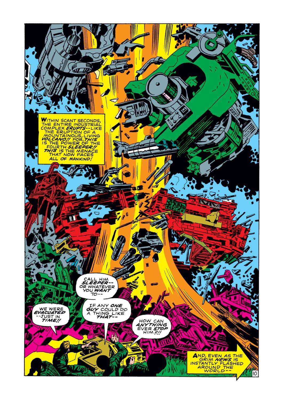 Read online Captain America (1968) comic -  Issue #102 - 11