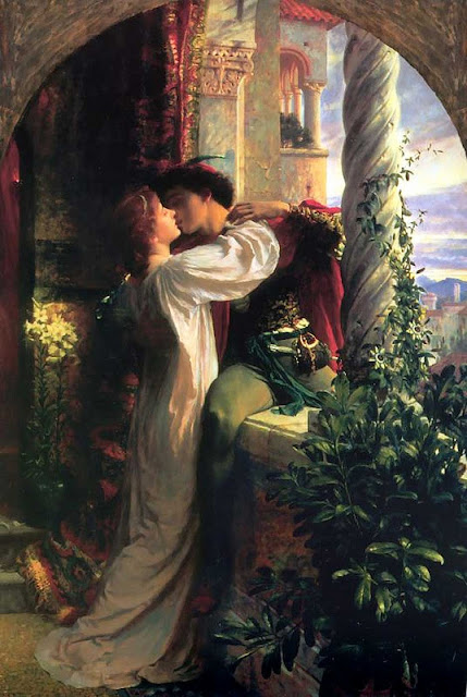 Frank Bernard Dicksee Romeo and Juliet