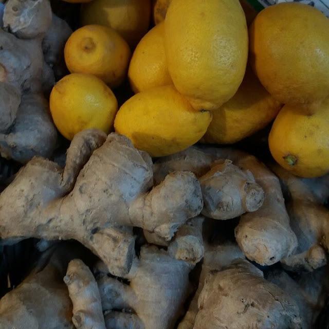 Jahe Dan Lemon Untuk Mengobati Batuk Dan Sakit Tenggorokan
