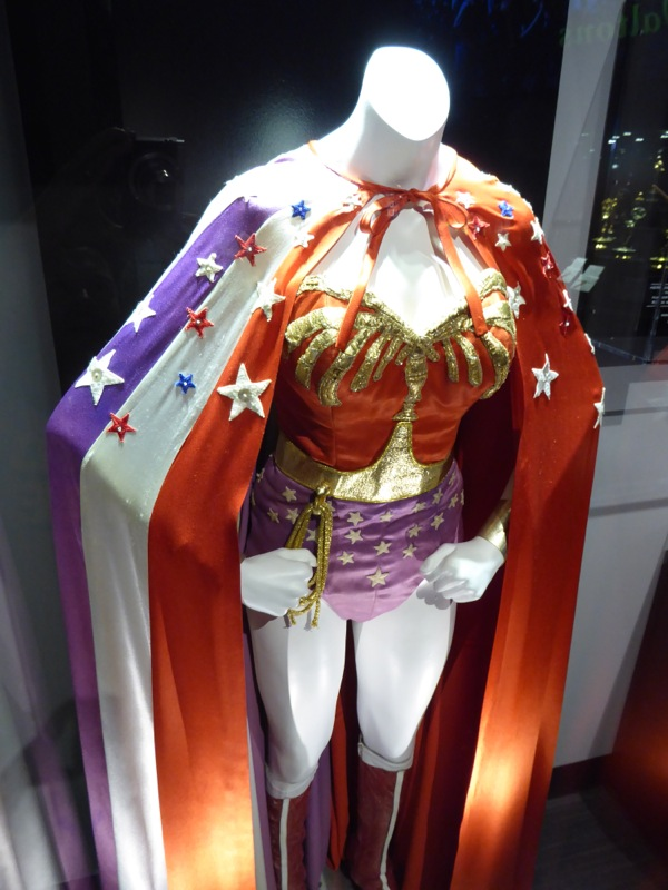 Lynda Carter 70s Wonder Woman TV costume