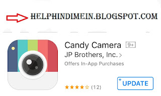 candy camera for iphone