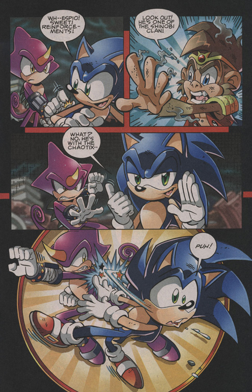 Read online Sonic The Hedgehog comic -  Issue #202 - 10
