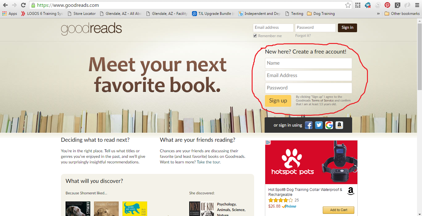 read books on goodreads