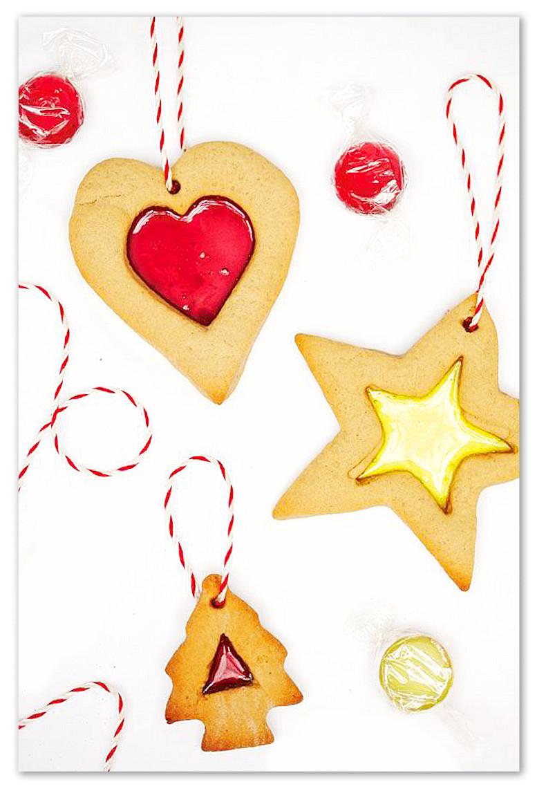 Biscotti Di Natale Effetto Vetro.Biscotti Di Vetro Per Un Natale Romantico E Coloratissimo