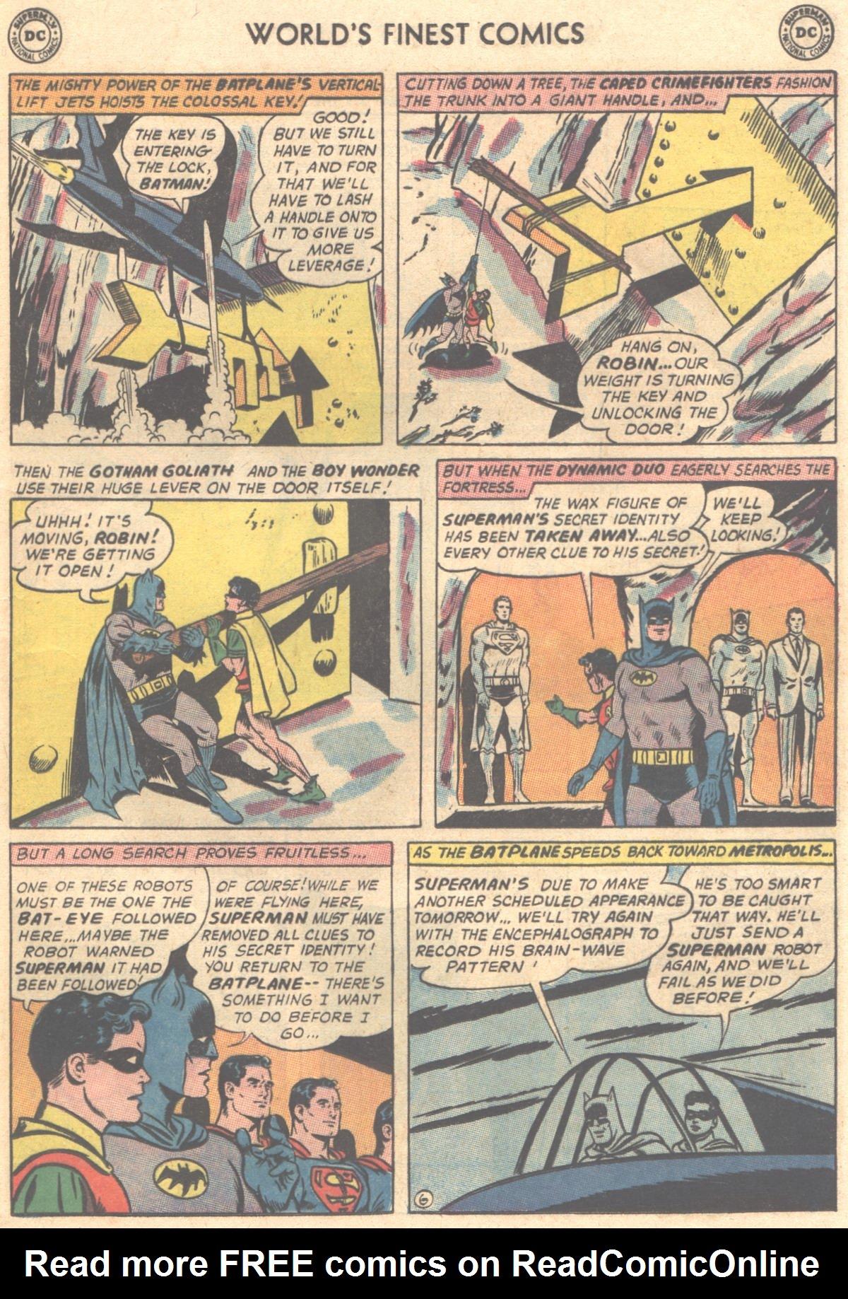 Read online World's Finest Comics comic -  Issue #149 - 9