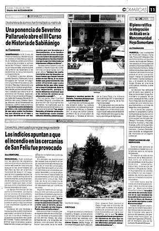 Fañanás: El Ayuntamiento de Alcalá del Obispo se integra en la Mancomunidad Hoya-Somontano