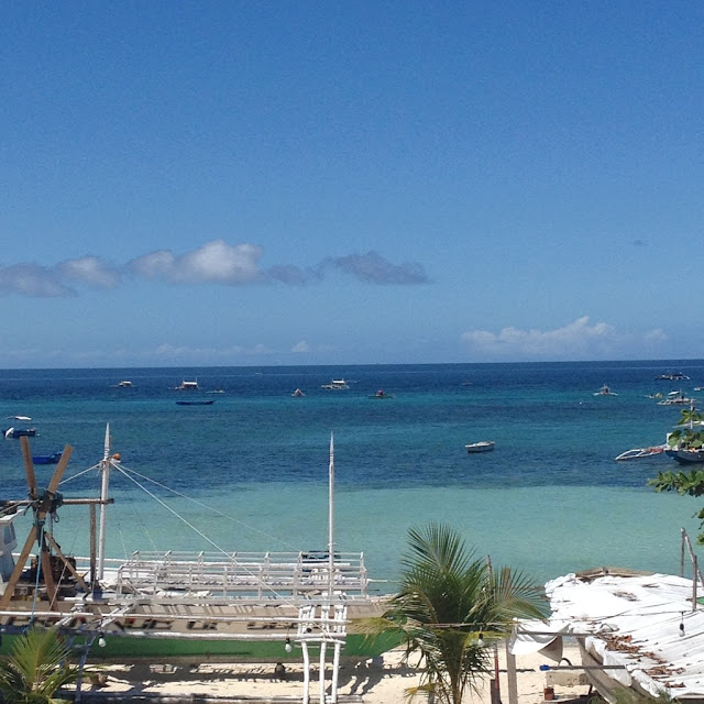View from my room in Malapascua Island Daanbantayan Cebu Central Visayas Philippines
