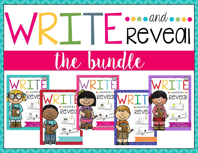 Choose a card, write the word, check your answer! Perfect for word work centers!