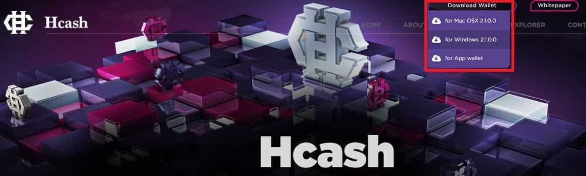 Wallet Oficial Monedero HCASH HSHARE HSR