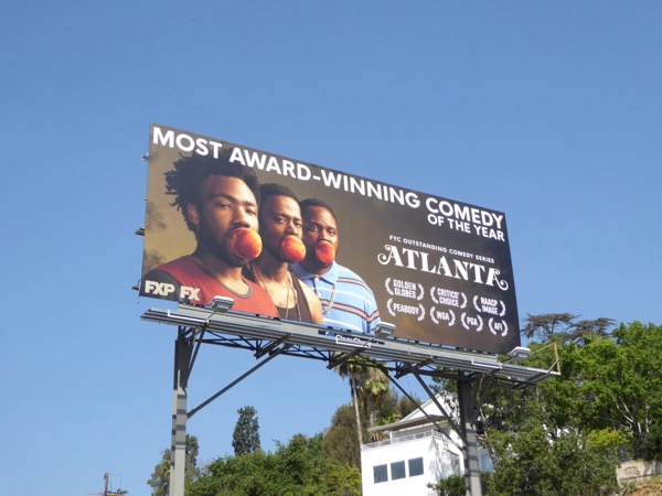 Atlanta 2017 Emmy nominations billboard