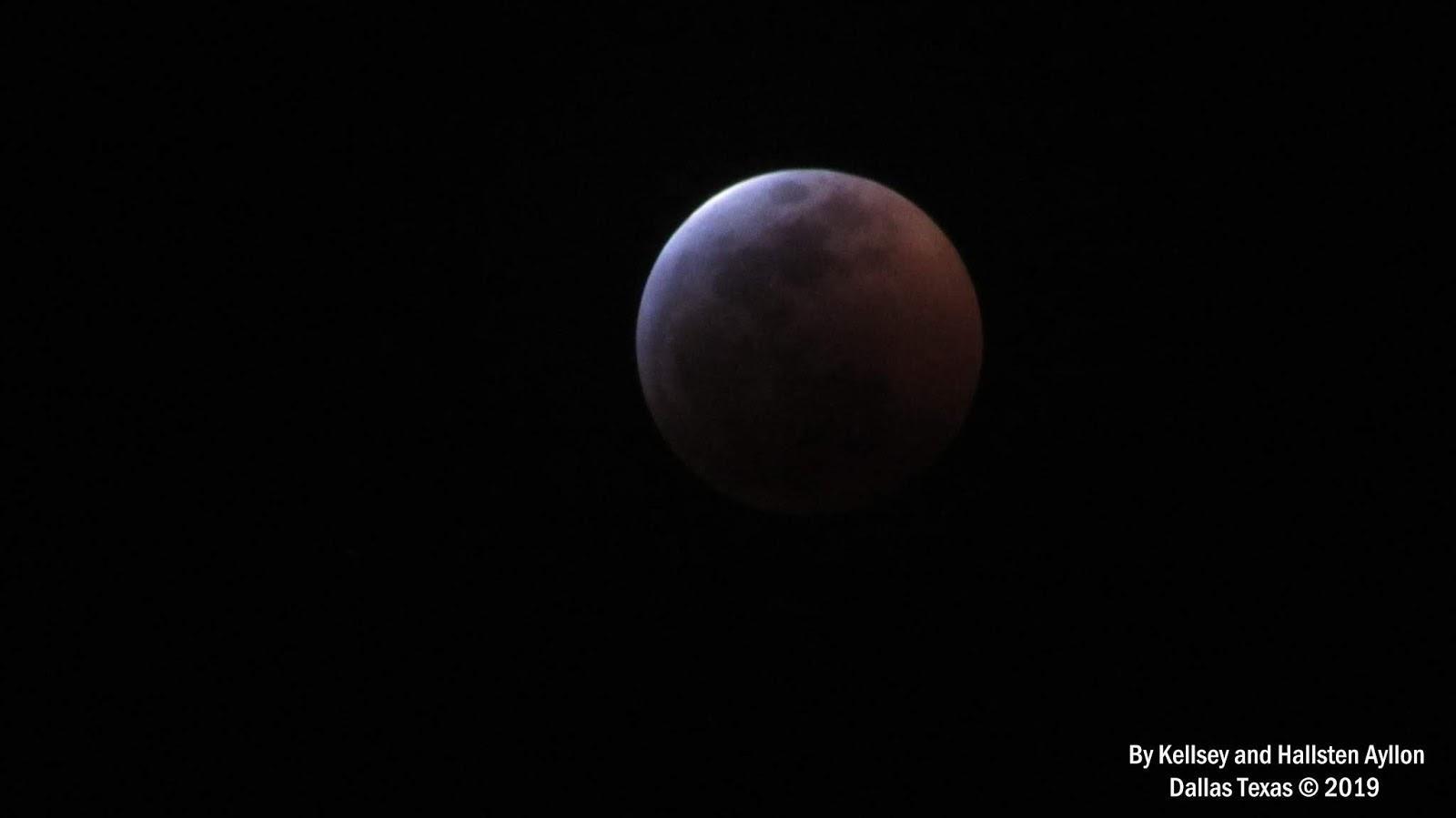blood moon january 2019 dallas tx - photo #12