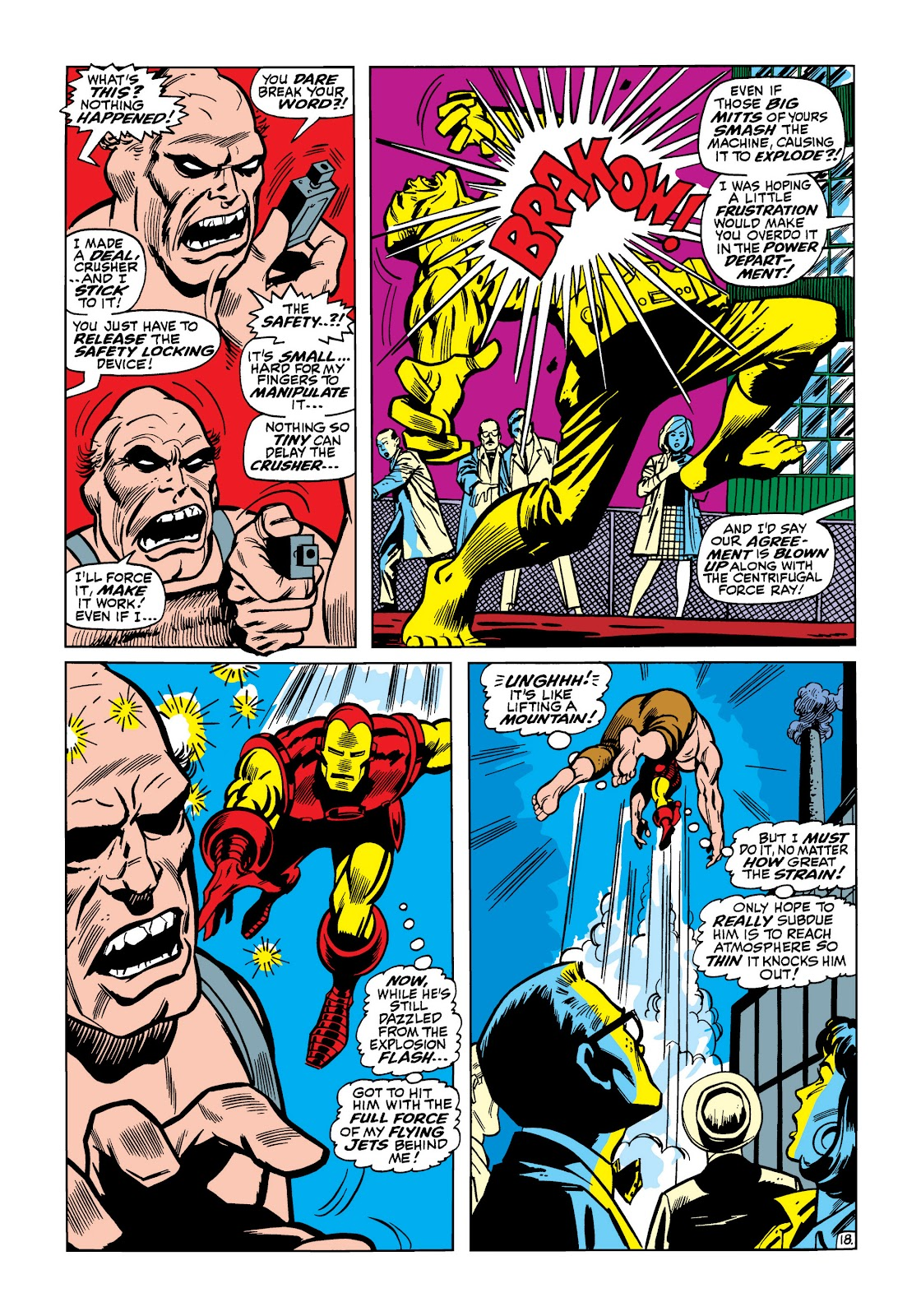 Read online Marvel Masterworks: The Invincible Iron Man comic -  Issue # TPB 5 (Part 2) - 9