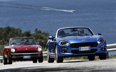 Το Fiat 124 Spider γιορτάζει την 50ή επέτειο