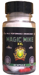 Macic Mike XXL Male Enhancement 10 Capsule Bottle