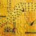 """Αυτό το αρχαίο αιγυπτιακό χειρόγραφο δείχνει ένα UFO που προσγειώνεται στη """"Σφίγγα"""";"""