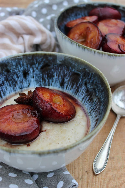spiced plum porridge