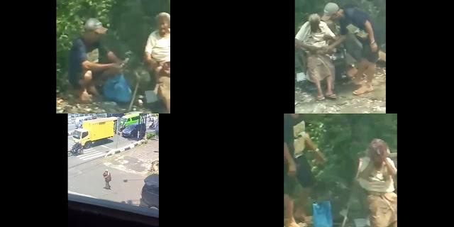 Nenek Dipaksa Ngemis Cucunya Sendiri di Semarang