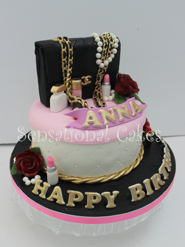 The Sensational Cakes Chanel Bag 3d Cake Singaporeblack 255 Cake