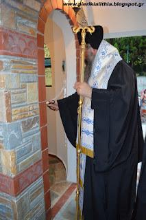 ΒΙΝΤΕΟ από τα Θυρανοίξια του Ιερού Παρεκκλησίου του Αγίου Λουκά του Ιατρού στην Κατερίνη