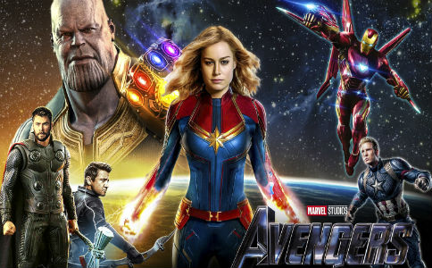 In-Avengers-Endgame-new -trailer-Captain-Marvel-and-Thor-have-a-great-time-first-gathering