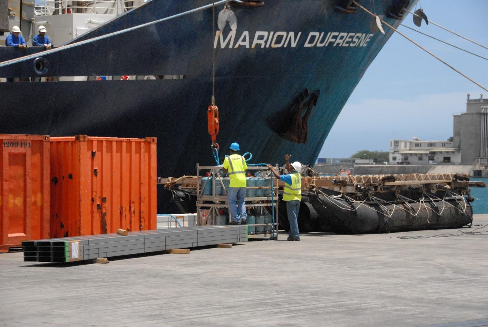 La marcophilie navale 2017 12 17 for Conteneur reunion tarif