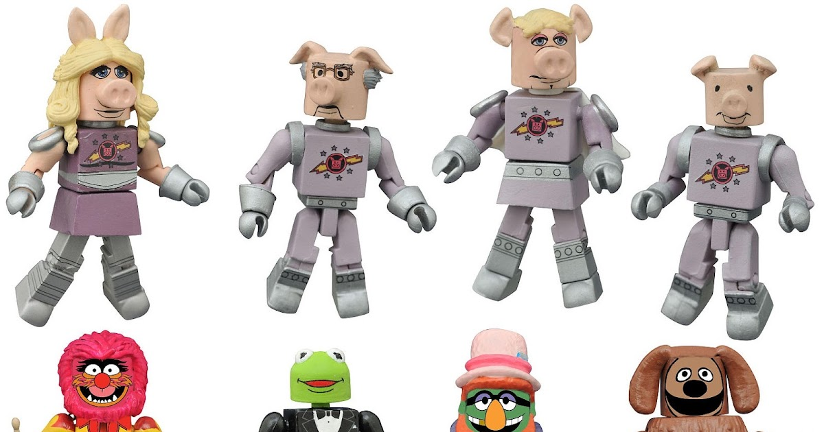 The Muppets Minimates TRU Toys R Us Wave 2 First Mate Piggy